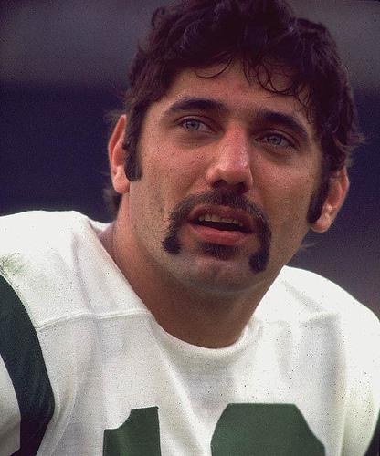 joe namath stache nfl sports jets If Moustaché Made Music : Volume 4