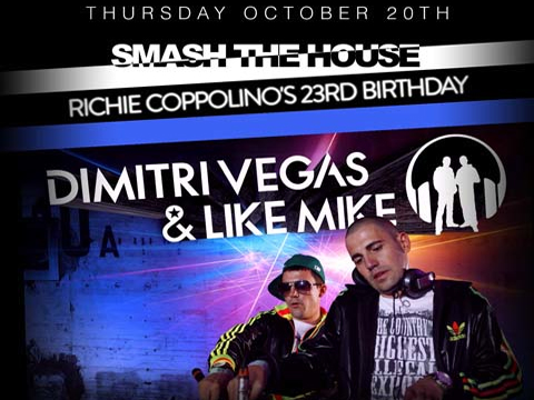 LM REVIEW: Dimitri Vegas & Like Mike @ District 36 10.20.11