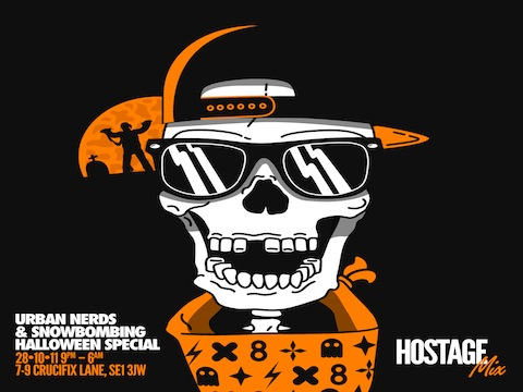 hostag MONDAY MIX: Hostages Halloween Mix for Urban Nerds