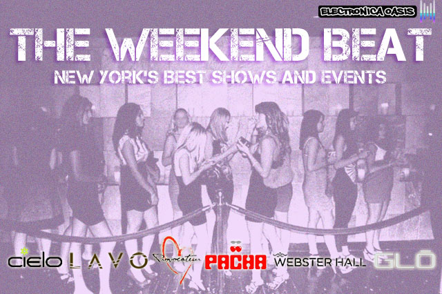 The Weekend Beat2 Set List Agency Showcase at Pacha NYC