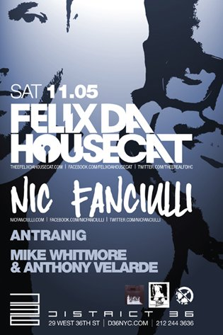 nic fanciulli REVIEW: Nic Fanciulli & Felix Da Housecat @ District 36