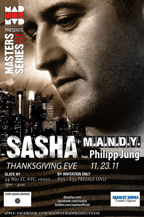 sahsa9 1 2 EVENTS: Sasha + M.A.N.D.Y on Thanksgiving Eve (11.23.11)