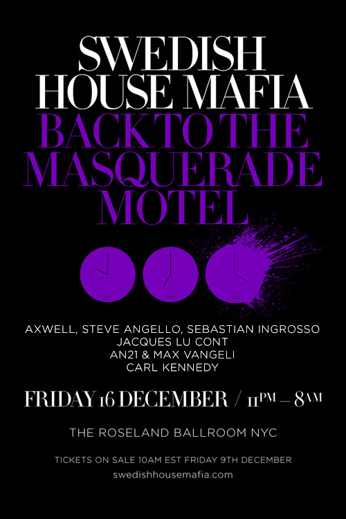SHM MSG EVENT: SHM Afterparty @ Roseland Ballroom