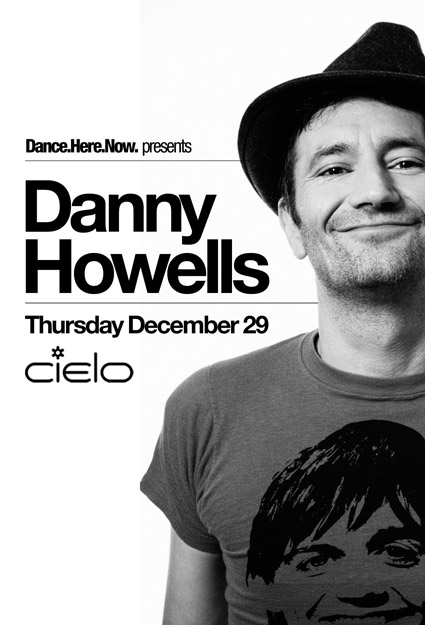 CONTEST: 2 Free Tickets to Danny Howells @ Cielo 12.29.2011