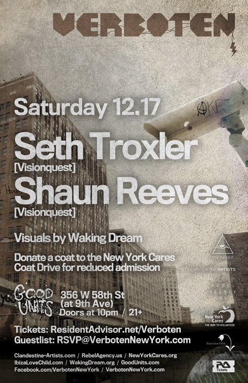 seth t EVENT: Seth Troxler & Shaun Reeves @ Good Units 12.17.10