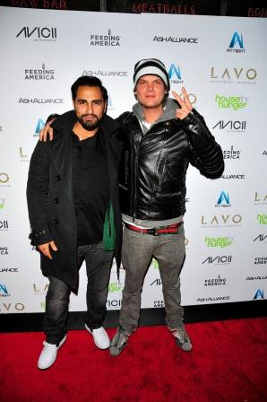 Avicii and Ash REVIEW: Aviciis House for Hunger Tour Raises Money And Lavos Roof