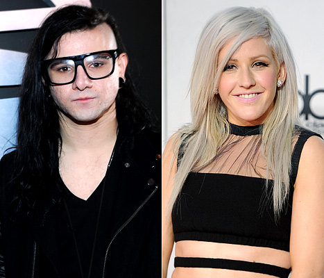 1ellie goulding article NEWS: Skrillex Dating Ellie Goulding?!