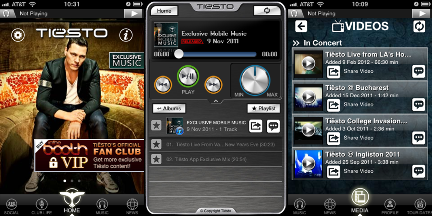 AppTiesto NEWS: Tiësto Launches On The Go App For iPhone and iPod Touch