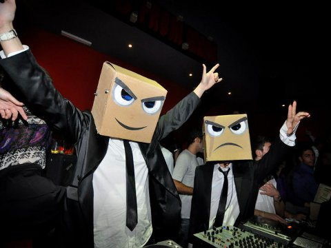 DJS from mars The Masked Men Of EDM