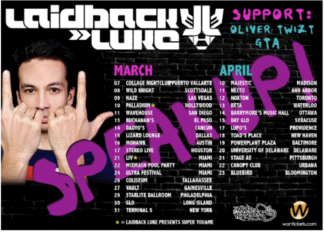 LBL1 NEWS: Laidback Luke To Speak Up On North American Bus Tour