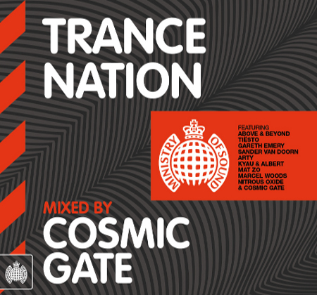 TranceNationCosmic ALBUM REVIEW: Trance Nation (Mixed By Cosmic Gate)