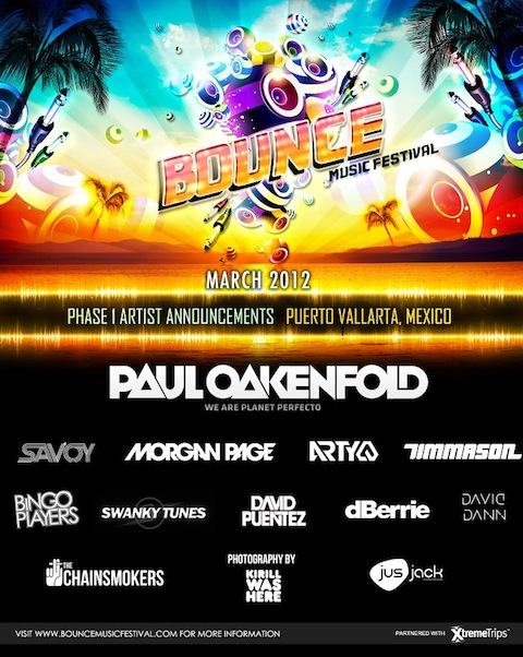 bounce1 NEWS: Bounce Music Festival bringing EDM to Puerto Vallarta, Mexico