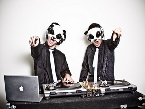 white panda The Masked Men Of EDM