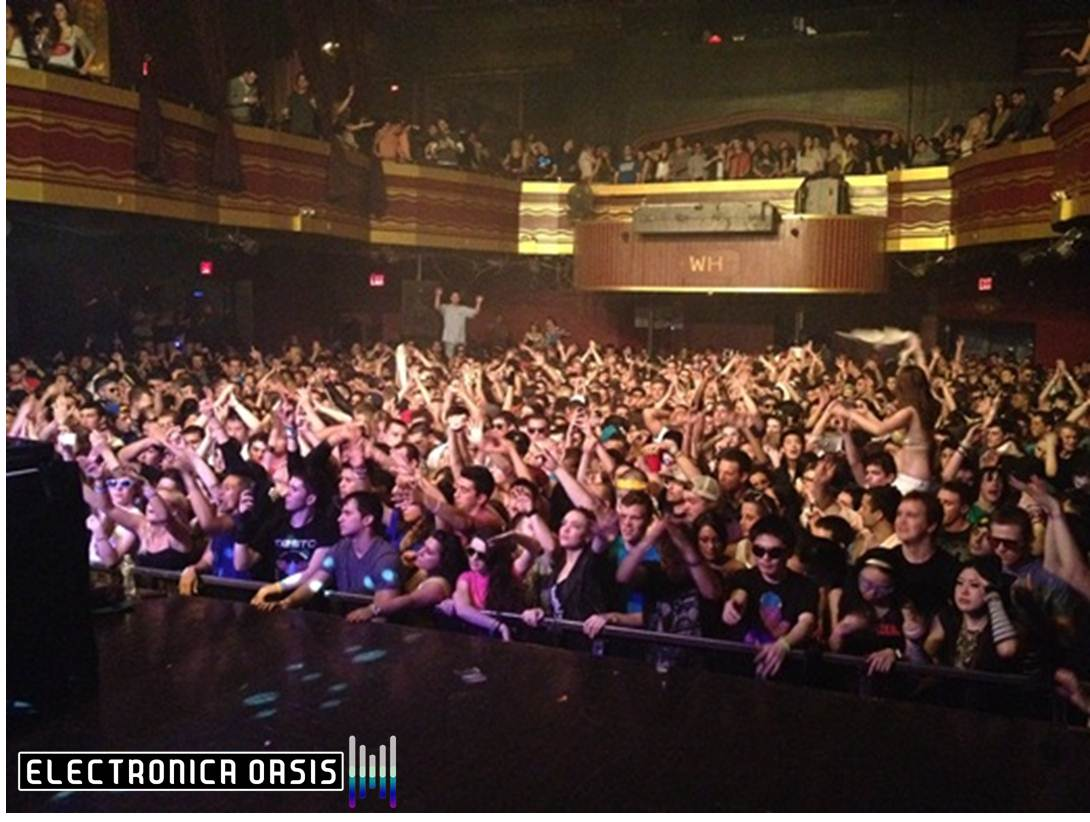 Tommy Trash Crowd REVIEW: Tommy Trash Throws Down 4/6 @ Webster Hall