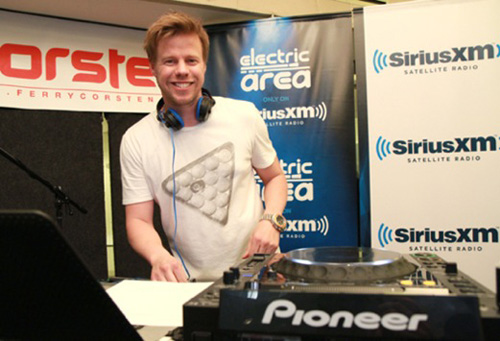 ferry 3 Ferry Corsten Celebrates 250 Countdowns For Eight Hours Live On SiriusXM