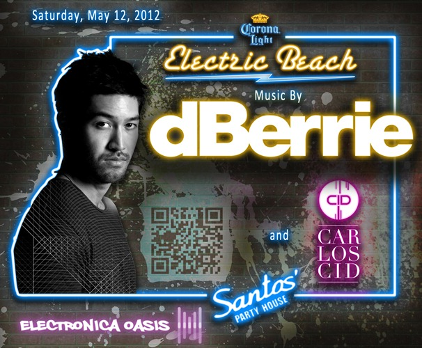 Electric Beach 5 12 12 GIVEAWAY: Win A Bottle & Party With dBerrie Saturday 5/12 @ Electric Beach