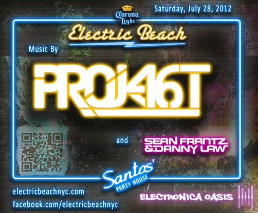 Project 46 EVENT: Project 46 @ Santos Electric Beach 7/28
