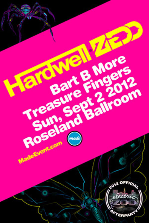 Untitled 1 OFFICIAL EZF AFTER PARTY: Hardwell, Zedd, Bart B More, & Treasure Fingers @ Roseland Ballroom 9/2