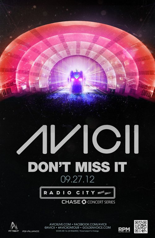 aveech radio city Avicii Radio City Music Hall & Santa Monica Civic Center Tickets Now Available