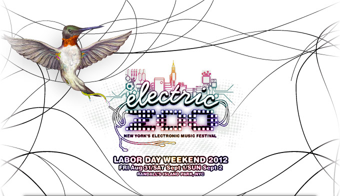 NEWS: Electric Zoo 2012 Set Times Announced