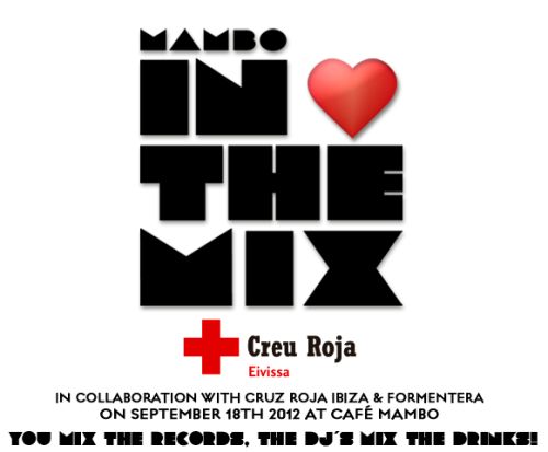 Cafe Mambo NEWS: Café Mambo Ibiza Enlists DJs As Mixologists For Charity