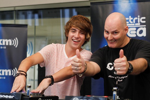 Danny Avila Sirius Danny Avila Spins His Way Through NYC