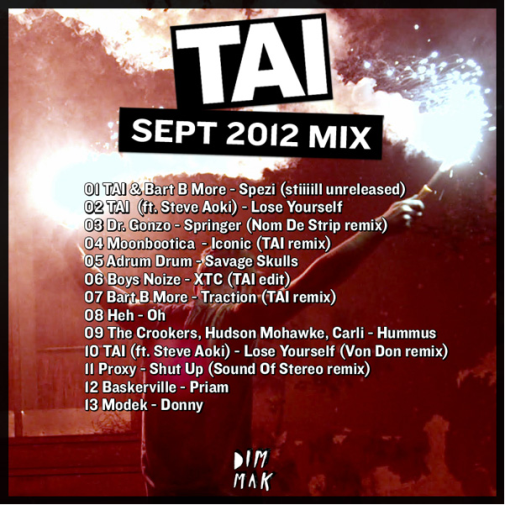 New Picture Tai   September 2012 Mix