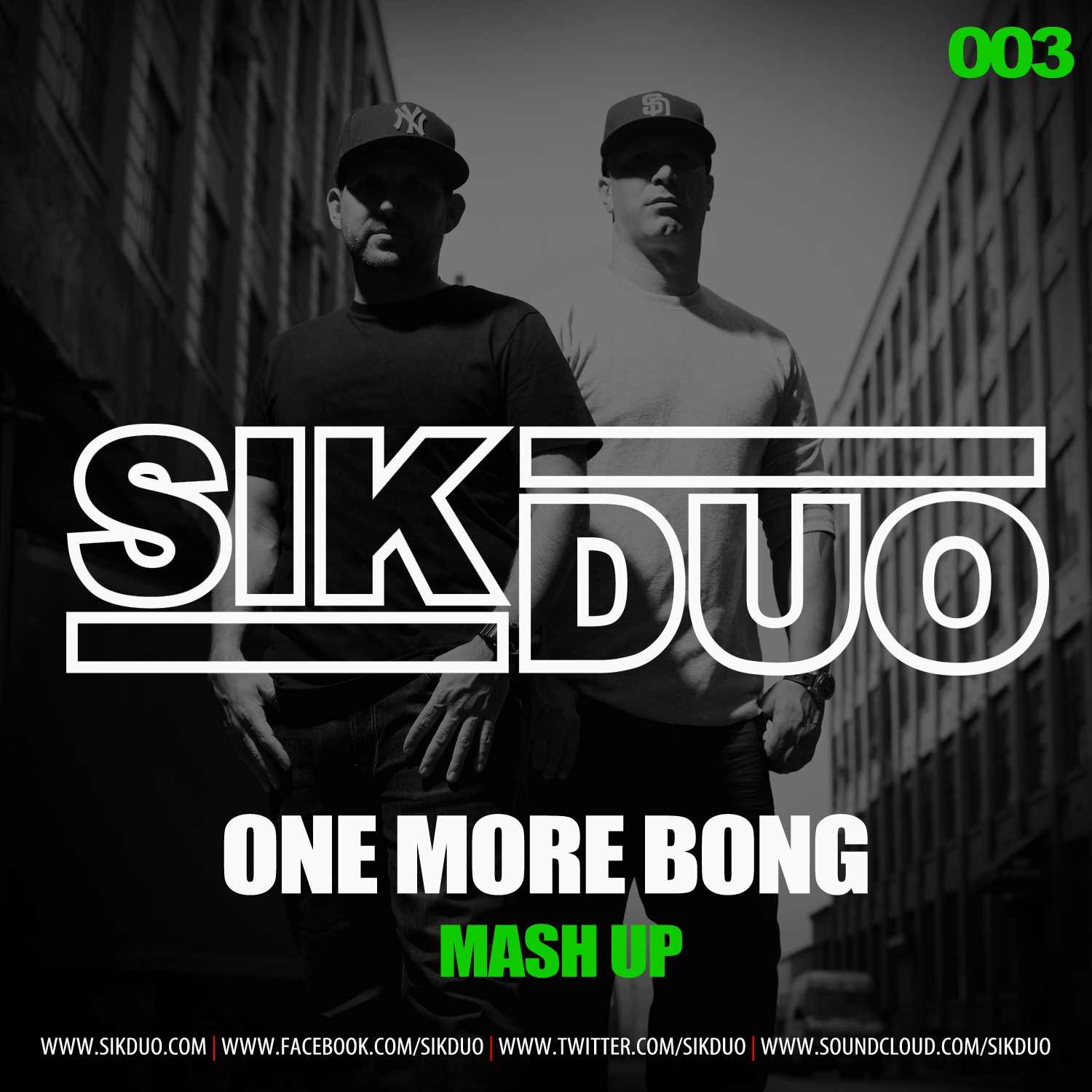 SikDuo MASHUP THURSDAYS: Daft Punk vs. Deniz Koyu   One More Bong (SikDuo Mash Up)
