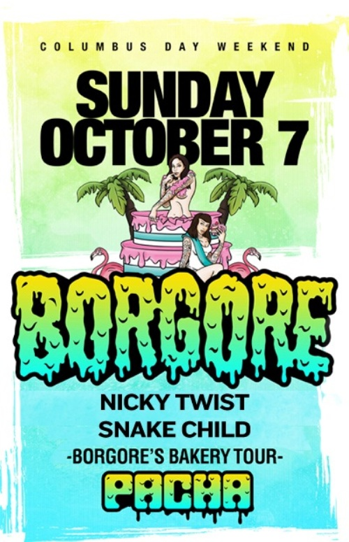 Borgore CONTEST: Win Tickets To See Borgore @ Pacha 10.7