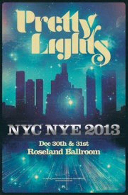 PL NEWS: Pretty Lights Announces 2 NYE Shows @ Roseland Ballroom