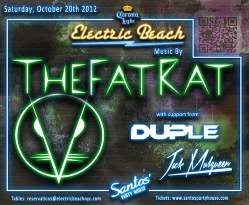 CONTEST: Win A Table & Bottle, Party With TheFatRat @ Santos Party House 10.20