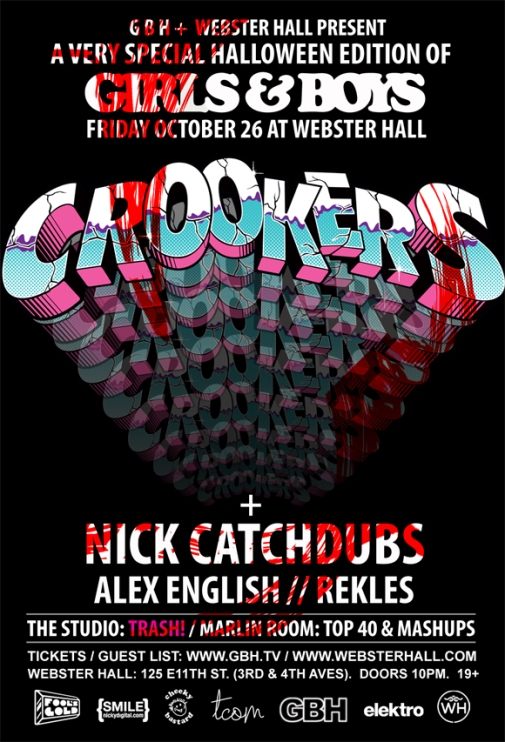 crookers CONTEST: Win VIP Tickets To See Crookers @ Webster Hall 10.25