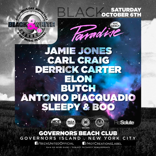 REVIEW: Derrick Carter, Butch, Carl Craig, Jamie Jones @ Governors Island 10.6.12