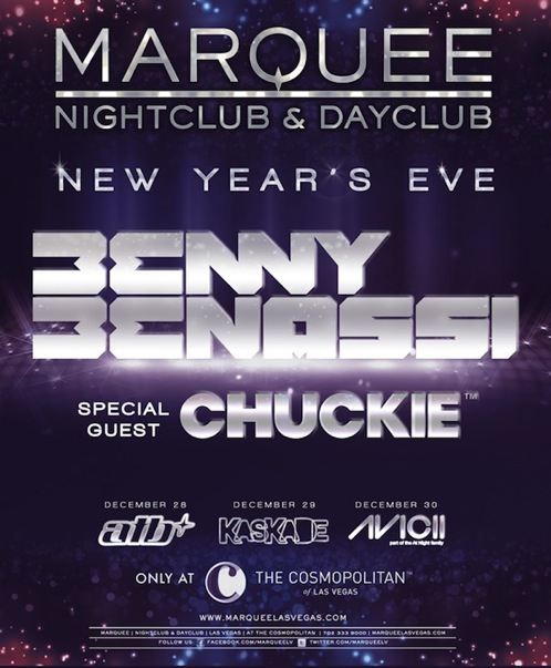 EVENT: New Years Eve Weekend at Marquee Las Vegas