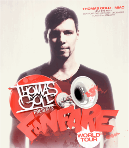 gold tour1 NEWS: Thomas Gold Announces January 2013 North American Tour