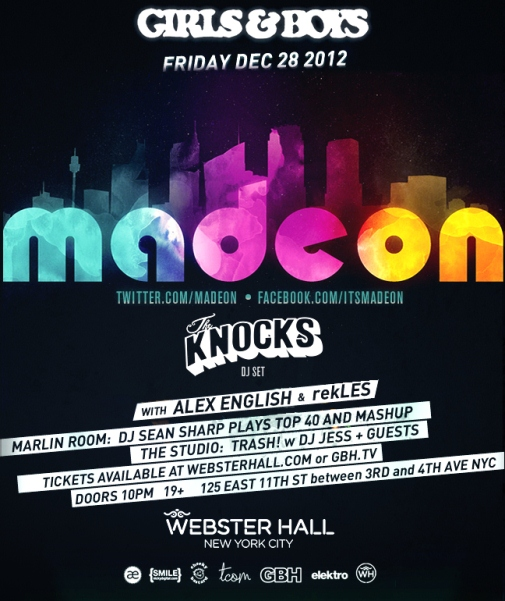 madeon web1 EVENT: Madeon @ Webster Hall 12.28
