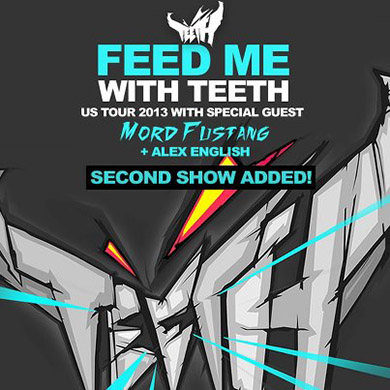 EVENT: Feed Me @ Webster Hall 2.2 & 2.3