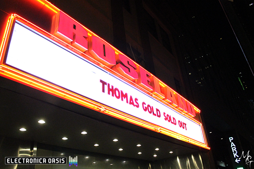 IMG 6896 copy REVIEW: Thomas Gold @ Roseland Ballroom 1.28