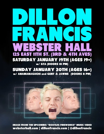 dillonfrancis 2013 EVENT: Dillon Francis @ Webster Hall