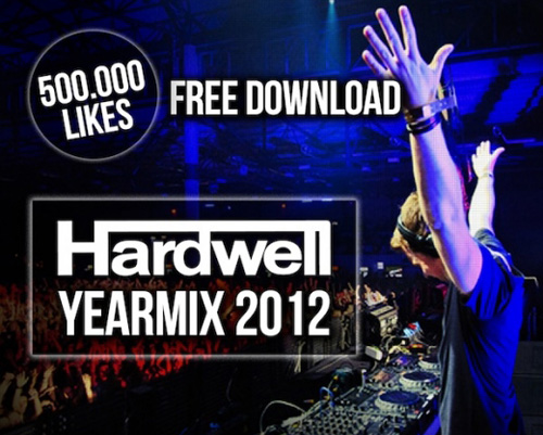 hardwellyearmix2012 Hardwell   Yearmix 2012