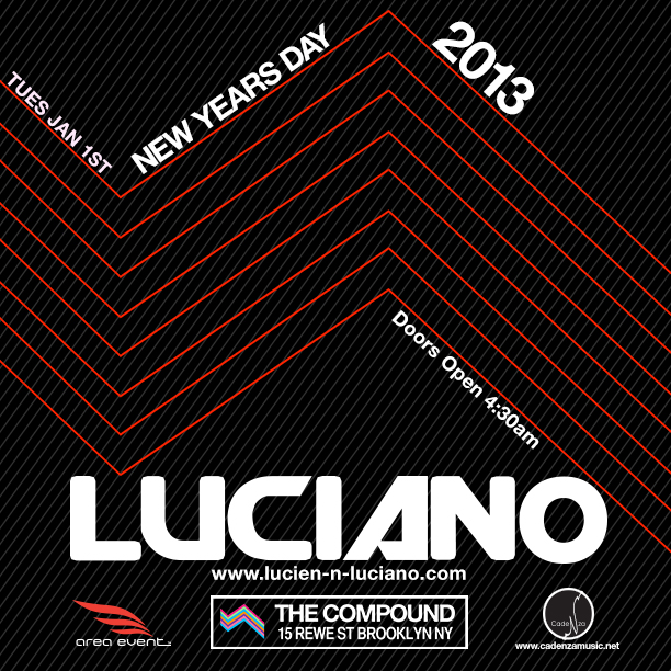 luciano REVIEW: Luciano @ The Compound 1.1.13