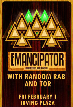  EVENT: Emancipator @ Irving Plaza 2.1