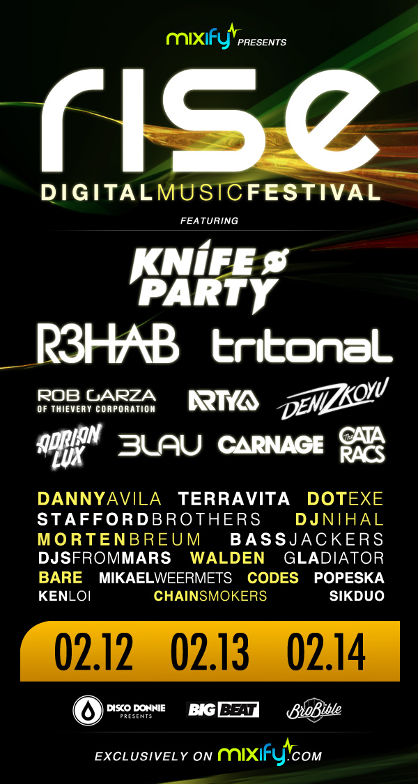 Mixify Rise Digital Music Festival