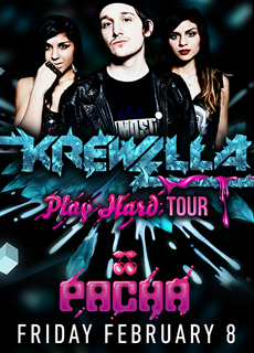 flyer 020813 EVENT: Krewella @ Pacha 2.8