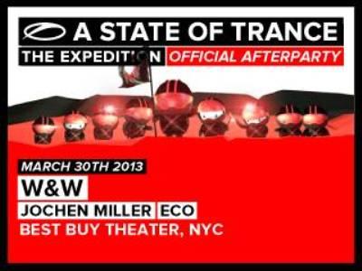 W&W and Jochen Miller@ Best Buy Theater 3.30