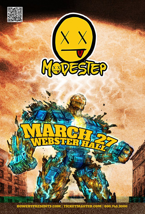 Modestep EVENT: Modestep @ Webster Hall 3.27