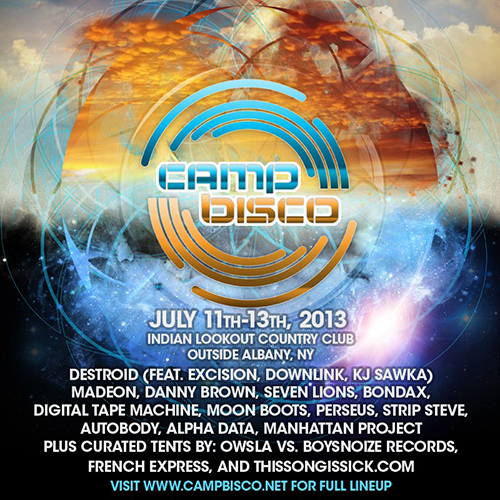 Camp Bisco 2013 Phase 2 Artists1 Camp Bisco Phase 2 Lineup is Now Live