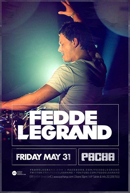 EVENT: Fedde le Grand @ Pacha NYC 5.31 + Ten Essential Tracks