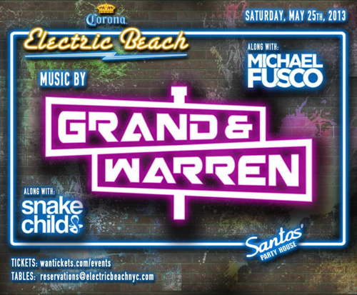 CONTEST: Party with Grand & Warren @ Santos Party House 5.25