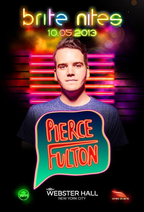 EVENT: Pierce Fulton @ Webster Hall 10.5